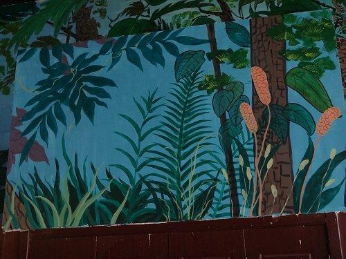 植物园手绘墙画彩绘壁画图片案例 - 天津798彩绘工作室