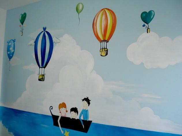 儿童房系列 - 天津798文化创意有限公司_墙绘_手绘墙